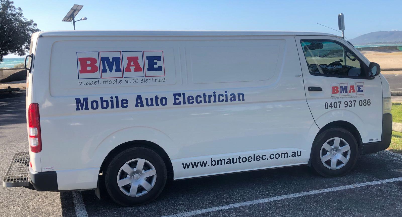 BMAE work van